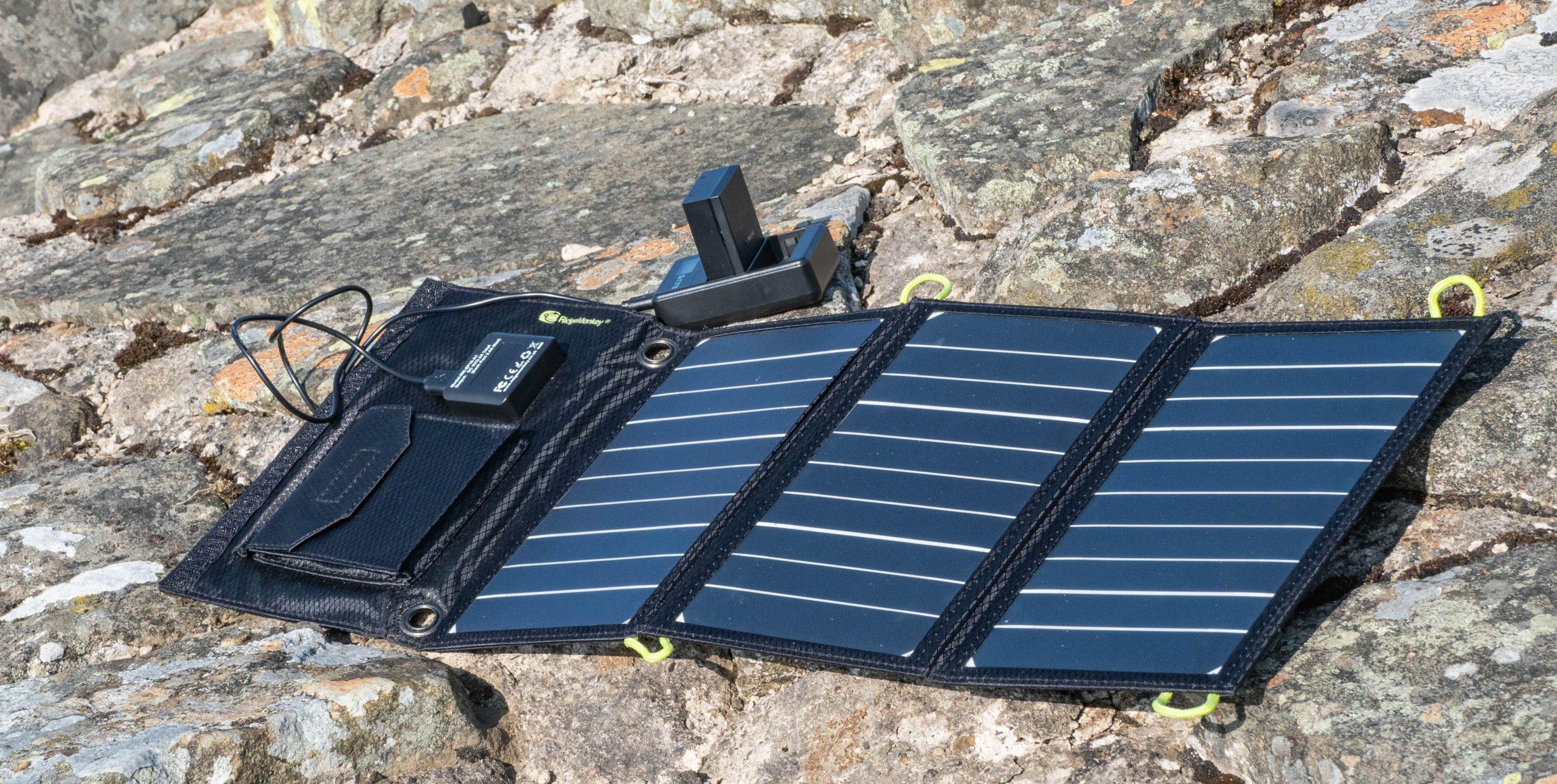 RidgeMonkey Solar panel