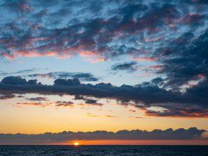 Summer Solstice Sunset N Norfolk